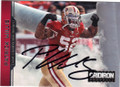 PATRICK WILLIS SAN FRANCISCO 49ers AUTOGRAPHED FOOTBALL CARD #30314i