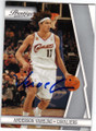 ANDERSON VAREJAO CLEVELAND CAVALIERS AUTOGRAPHED BASKETBALL CARD #30414C