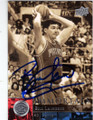 BILL LAIMBEER DETROIT PISTONS AUTOGRAPHED BASKETBALL CARD #30514H