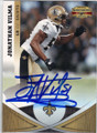 JONATHAN VILMA NEW ORLEANS SAINTS AUTOGRAPHED FOOTBALL CARD #30714A