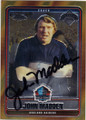 JOHN MADDEN OAKLAND RAIDERS AUTOGRAPHED FOOTBALL CARD #32014D