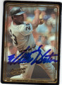 WILLIE HORTON DETROIT TIGERS AUTOGRAPHED BASEBALL CARD #32114F