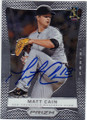 MATT CAIN SAN FRANCISCO GIANTS AUTOGRAPHED BASEBALL CARD #33114M