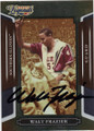 WALT FRAZIER SOUTHERN ILLINOIS AUTOGRAPHED BASKETBALL CARD #40714H