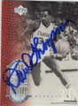 DAVID THOMPSON DENVER NUGGETS AUTOGRAPHED BASKETBALL CARD #40814G