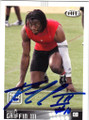 ROBERT GRIFFIN III BAYLOR UNIVERSITY AUTOGRAPHED ROOKIE FOOTBALL CARD #40814Q