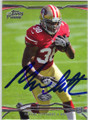 MARCUS LATTIMORE SAN FRANCISCO 49ers AUTOGRAPHED ROOKIE FOOTBALL CARD #40814R