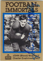 "JOHN ""BLOOD"" McNALLY GREEN BAY PACKERS AUTOGRAPHED FOOTBALL CARD #40914B"
