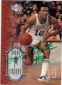 JO JO WHITE BOSTON CELTICS AUTOGRAPHED BASKETBALL CARD #40914D