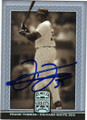 FRANK THOMAS CHICAGO WHITE SOX AUTOGRAPHED BASEBALL CARD #40914J