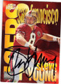 STEVE YOUNG SAN FRNCISCO 49ers AUTOGRAPHED FOOTBALL CARD #41014H