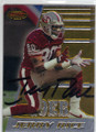 JERRY RICE SAN FRANCISCO 49ers AUTOGRAPHED FOOTBALL CARD #41014P