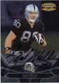 ZACH MILLER OAKLAND RAIDERS AUTOGRAPHED FOOTBALL CARD #41414H