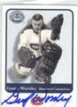 GUMP WORSLEY MONTREAL CANADIENS AUTOGRAPHED HOCKEY CARD #41414i