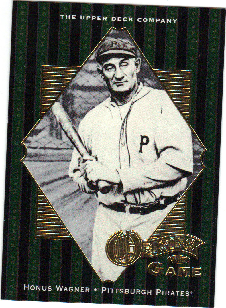 Honus Wagner Pittsburgh Pirates Unsigned Baseball Card 41514g