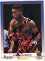 KENNEDY McKINNEY AUTOGRAPHED BOXING CARD #41514K