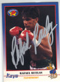RAFAEL RUELAS AUTOGRAPHED BOXING CARD #41514N