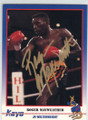 ROGER MAYWEATHER AUTOGRAPHED BOXING CARD #41714G