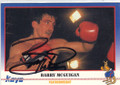 BARRY McGUIGAN AUTOGRAPHED BOXING CARD #41714N