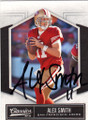 ALES SMITH SAN FRANCISCO 49ers AUTOGRAPHED FOOTBALL CARD #42114E