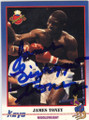 JAMES TONEY AUTOGRAPHED BOXING CARD #42214E