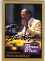 PETE ROZELLE AUTOGRAPHED FOOTBALL CARD #42314E