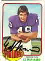 ED MARINARO MINNESOTA VIKINGS AUTOGRAPHED VINTAGE FOOTBALL CARD #42914E