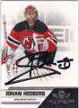 JOHAN HEDBERG NEW JERSEY DEVILS AUTOGRAPHED HOCKEY CARD #42914i