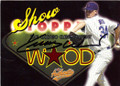 KERRY WOOD CHICAGO CUBS AUTOGRAPHED BASEBALL CARD #50414R