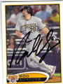 ROD BARAJAS PITTSBURGH PIRATES AUTOGRAPHED BASEBALL CARD #50714B