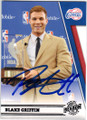 BLAKE GRIFFIN LOS ANGELES CLIPPERS AUTOGRAPHED BASKETBALL CARD #50714E