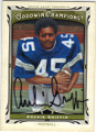 ARCHIE GRIFFIN OHIO STATE BUCKEYE AUTOGRAPHED FOOTBALL CARD #50814E