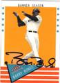 BARRY BONDS SAN FRANCISCO GIANTS AUTOGRAPHED BASEBALL CARD #50914A