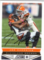 JOE HADEN CLEVELAND BROWNS AUTOGRAPHED FOOTBALL CARD #50914G