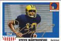 STEVE BARTKOWSKI UNIVERSITY OF CALIFORNIA BERKLEY AUTOGRAPHED FOOTBALL CARD #51014E