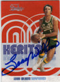 LENNY WILKENS SEATTLE SUPERSONICS AUTOGRAPHED BASKETBALL CARD #51014G