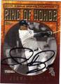 JERMAINE DYE CHICAGO WHITE SOX AUTOGRAPHED BASEBALL CARD #51214O