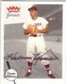 HARMON KILLEBREW WASHINGTON SENATORS AUTOGRAPHED BASEBALL CARD #51414E