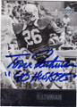 TOM RATHMAN UNIVERSITY OF NEBRASKA CORNHUSKERS AUTOGRAPHED FOOTBALL CARD #52014C