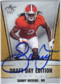 SAMMY WATKINS CLEMSON UNIVERSITY AUTOGRAPHED ROOKIE FOOTBALL CARD #52314A