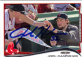 JOEL HANRAHAN BOSTON RED SOX AUTOGRAPHED BASEBALL CARD #52314D