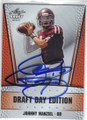 JOHNNY MANZIEL TEXAS A&M AUTOGRAPHED ROOKIE FOOTBALL CARD #52314G