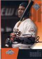 BARRY BONDS SAN FRANCISCO GIANTS AUTOGRAPHED BASEBALL CARD #60414D