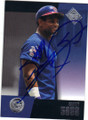 SAMMY SOSA CHICAGO CUBS AUTOGRAPHED BASEBALL CARD #60414G