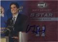 MATT LEINART USC TROJANS HEISMAN TROPHY WINNER AUTOGRAPHED ROOKIE FOOTBALL CARD #60614D