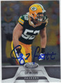 CLAY MATTHEWS GREEN BAY PACKERS AUTOGRAPHED FOOTBALL CARD #60614E