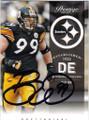 BRETT KEISEL PITTSBURGH STEELERS AUTOGRAPHED FOOTBALL CARD #60714D