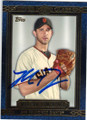 MADISON BUMGARNER SAN FRANCISCO GIANTS AUTOGRAPHED BASEBALL CARD #60714H
