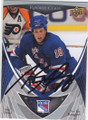 MARC STAAL NEW YORK RANGERS AUTOGRAPHED ROOKIE HOCKEY CARD #61014N
