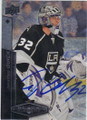 JONATHAN QUICK LOS ANGELES KINGS AUTOGRAPHED HOCKEY CARD #61114i